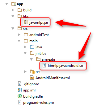 Creating a new Java project for Android using Android Studio